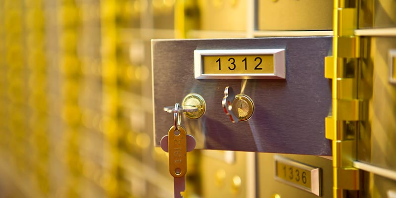 Safety Deposit Boxes South London